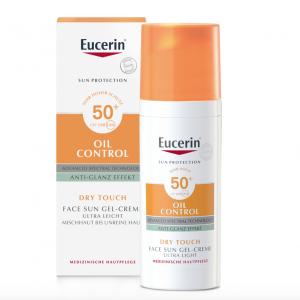 Eucerin –Oil Control Face Sun Gel-Creme LSF 50+