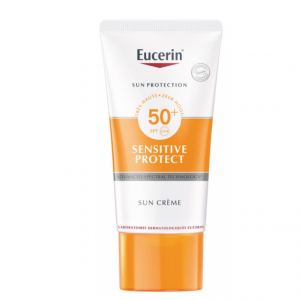 Sensitive Protect Face Sun Creme LSF 50+ von Eucerin