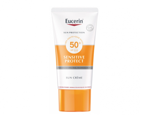 Sensitive Protect Face Sun Creme LSF 50+ von Eucerin