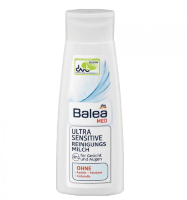 Balea MED – Ultra Sensitive Reinigungsmilch