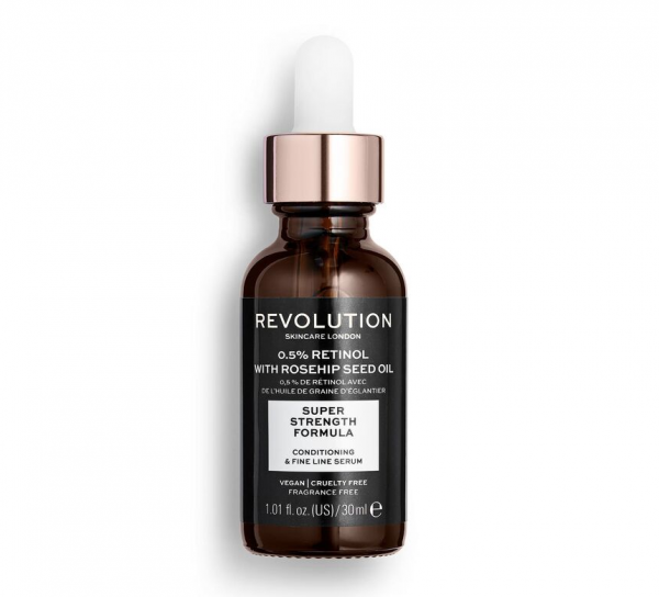 Revolution Skincare – Extra 0.5% Retinol Serum with Rosehip Seed Oil