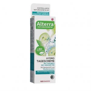 Alterra –Hydro Tagescreme Bio-Traube & Bio-Weisser Tee