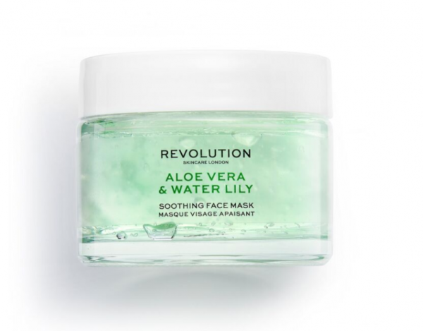 Revolution Skincare – Aloe Vera & Water Lily Soothing Face Mask
