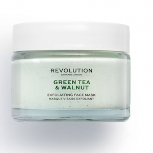 Revolution Skincare – Green Tea & Walnut Exfoliating Face Mask