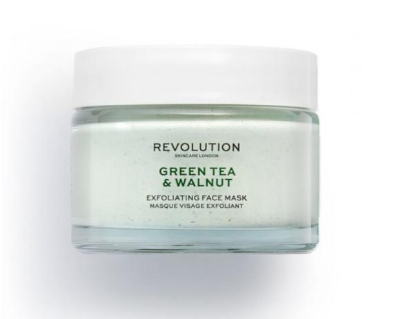 Revolution Skincare – Green Tea & Walnut Exfoliating Face Mask