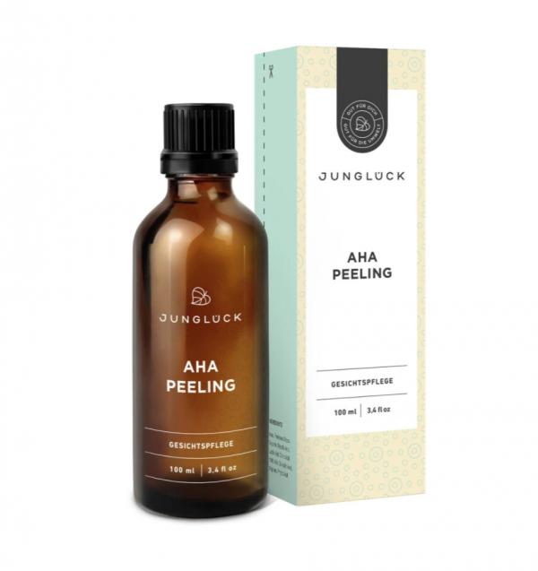 Junglück – AHA Peeling