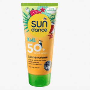 Sundance Kids Sonnencreme ohne Octocrylen